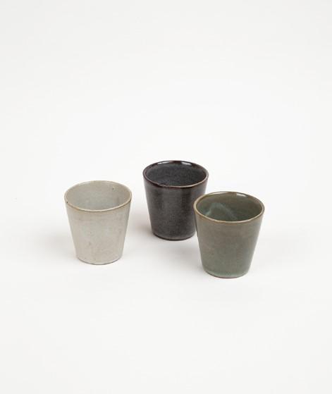 MADAM STOLTZ Stoneware Becher beige