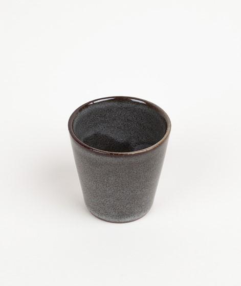 MADAM STOLTZ Stoneware Becher braun