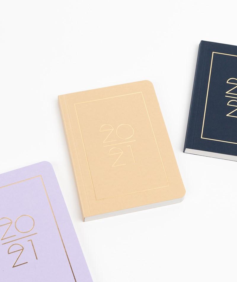 NAVUCKO Pocket Planner/ Diary 2021 stone