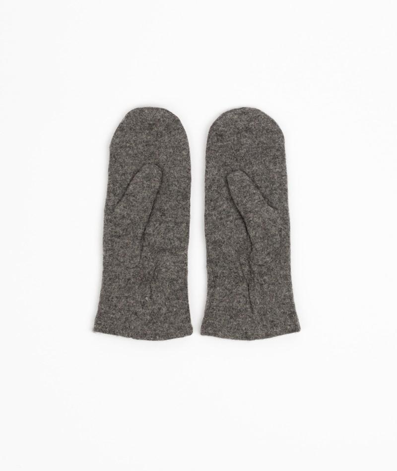 MOSS COPENHAGEN Mittens Handschuhe grau