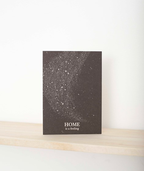 ANNA COSMA Postkarte Home is a feeling