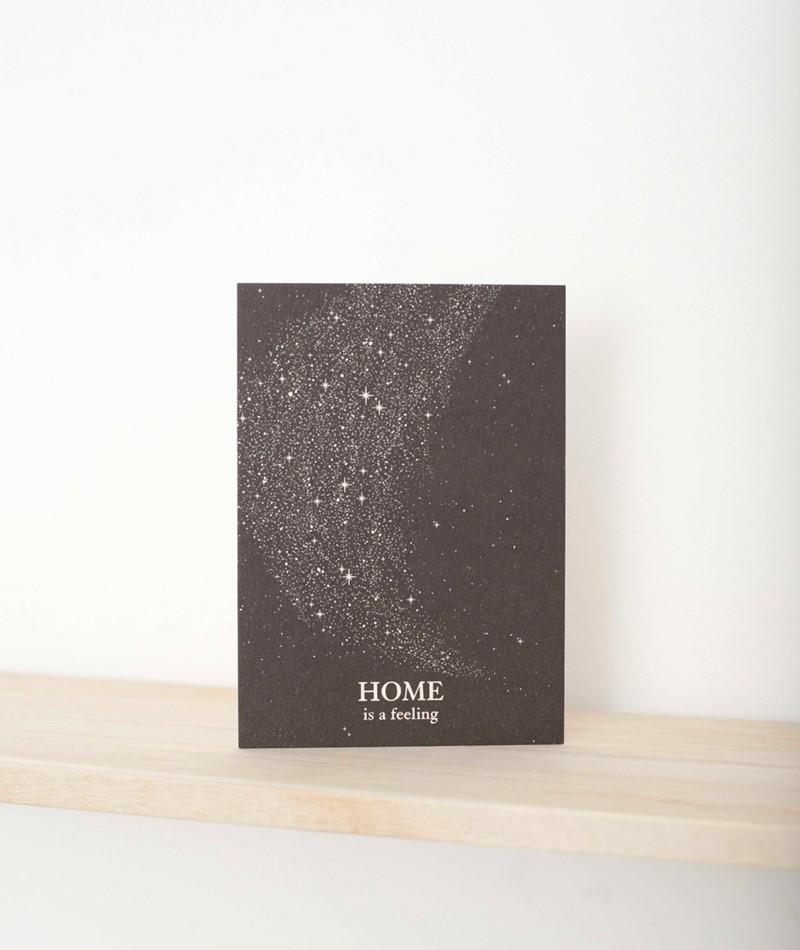 ANNA COSMA Postkarte Home is a feeling