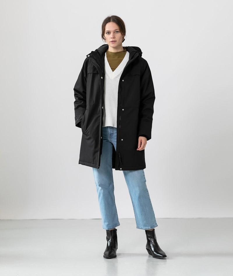 MINIMUM Naviri Mantel schwarz
