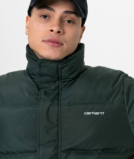 CARHARTT WIP Danville Jacke teal/white