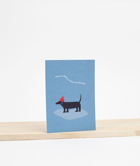 KAUF DICH GLÜCKLICH Postkarte jolly good