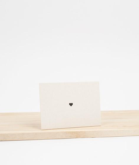 PAPIER AHOI Minicard Herz