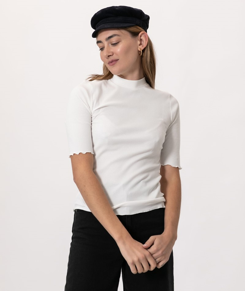 SELECTED FEMME SLFAnna 2/4 Neck T-Shirt