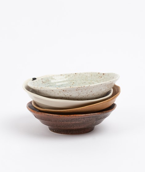 HKLIVING Japanese Shallow Bowl beige