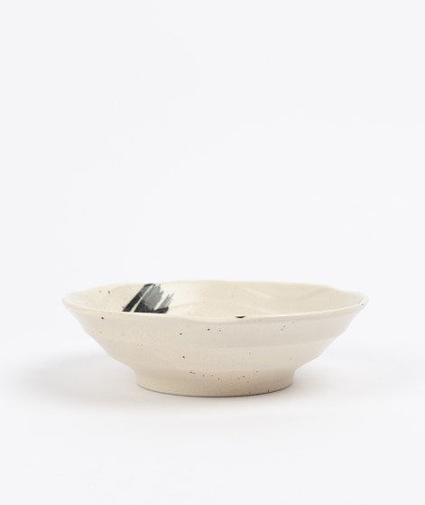 HKLIVING Japanese Shallow Bowl schwarz