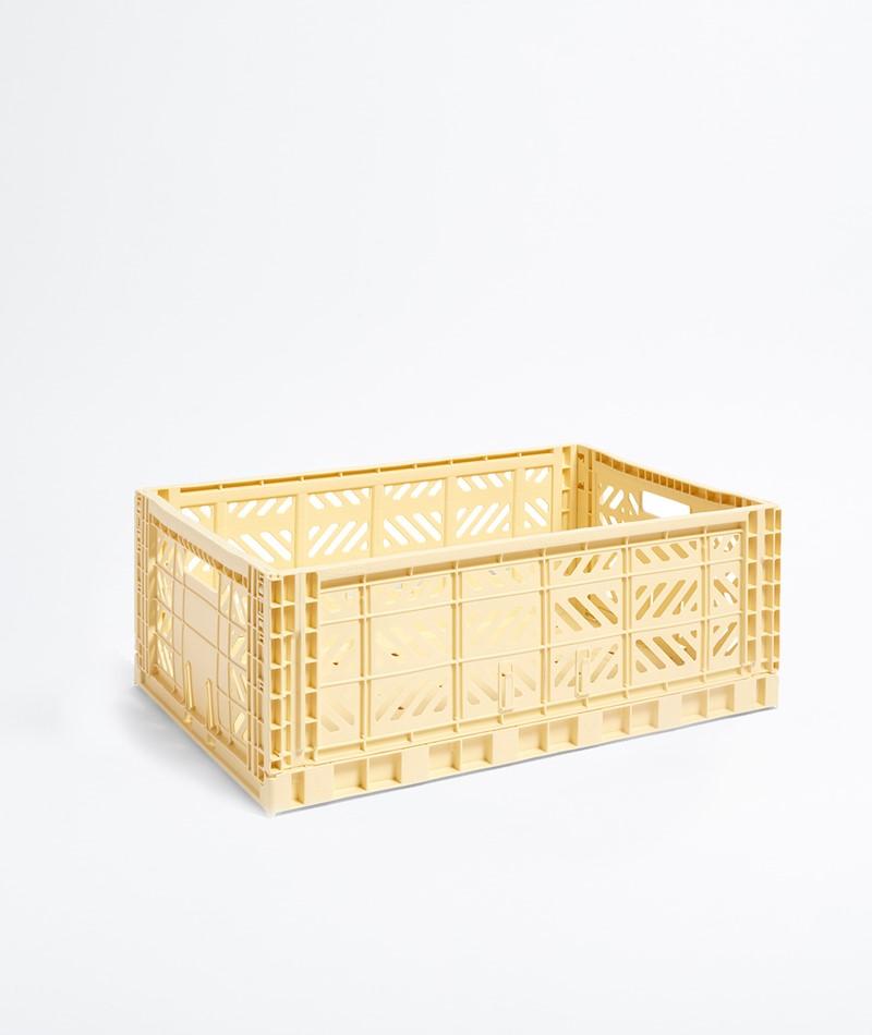 HAY Colour Crate L gelb