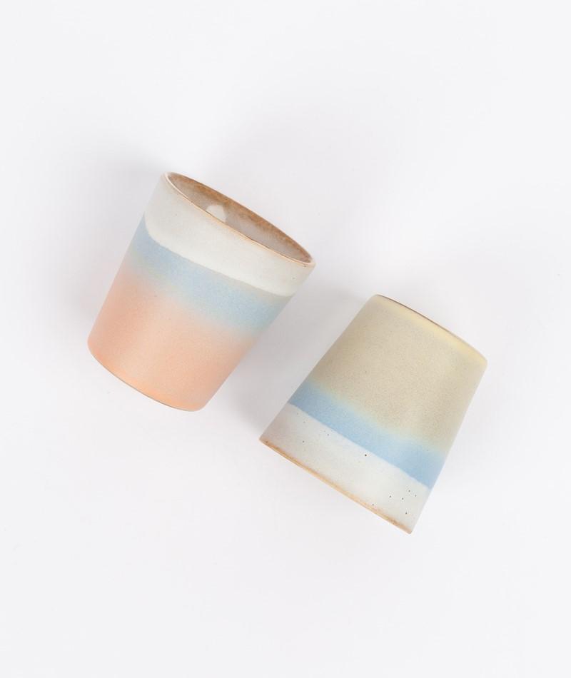 HKLIVING Ceramic Set 70`s Mug Horizon