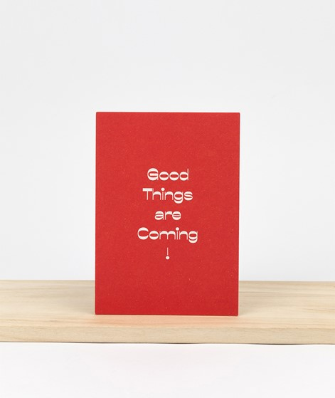 KAUF DICH GLÜCKLICH Postkarte good thing