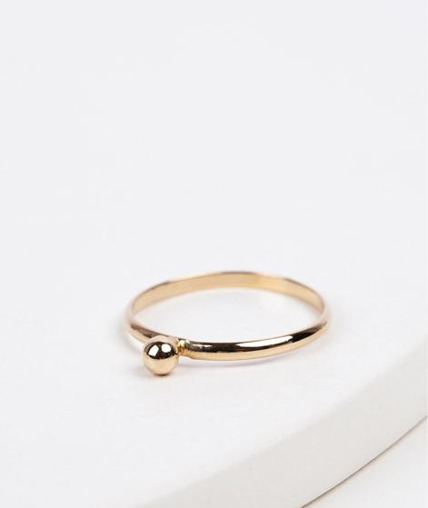 KAUF DICH GLÜCKLICH Ring mit Goldperle