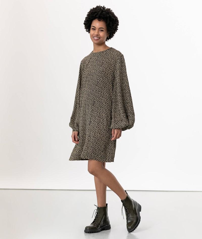 SAMSOE SAMSOE Aram Kleid gemustert
