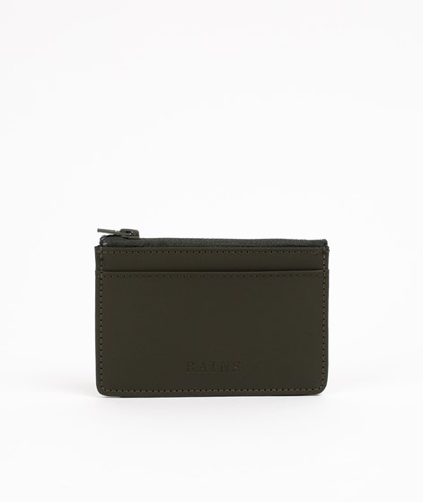 RAINS Zip Wallet grün