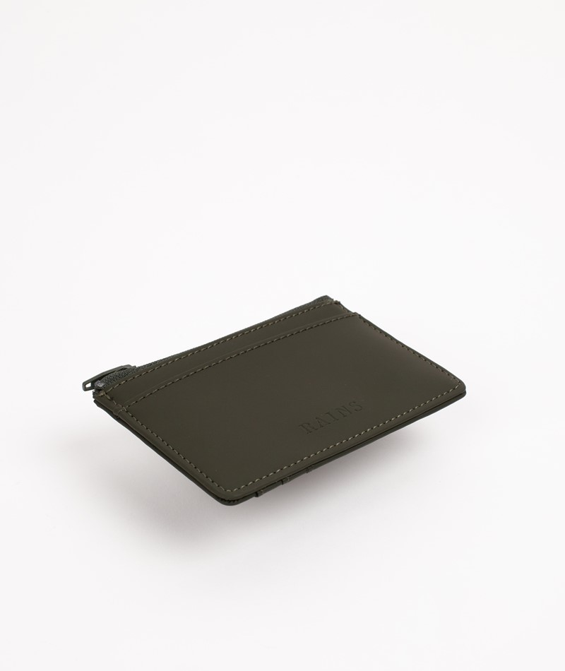 RAINS Zip Wallet grün