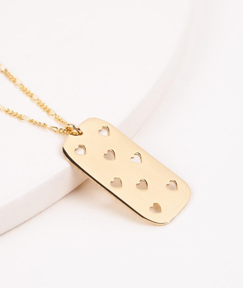 JUKSEREI Heart Kette gold