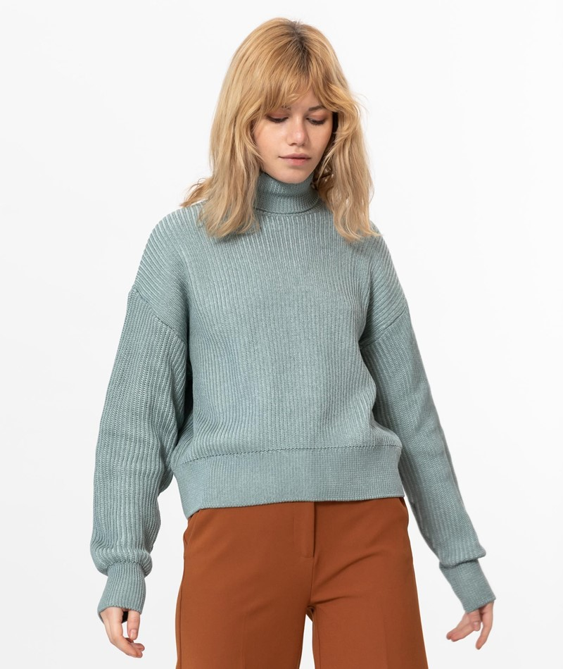 ANOTHER LABEL Wyckoff Pullover hellblau