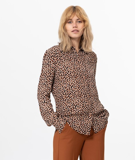 ANOTHER LABEL Maple Dot Bluse gepunktet