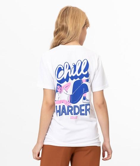 GIRLS ARE AWESOME Vikunia T-Shirt weiß