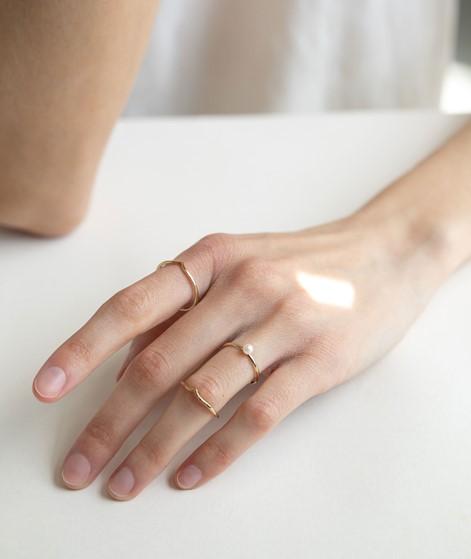 KAUF DICH GLÜCKLICH Ring mit Perle