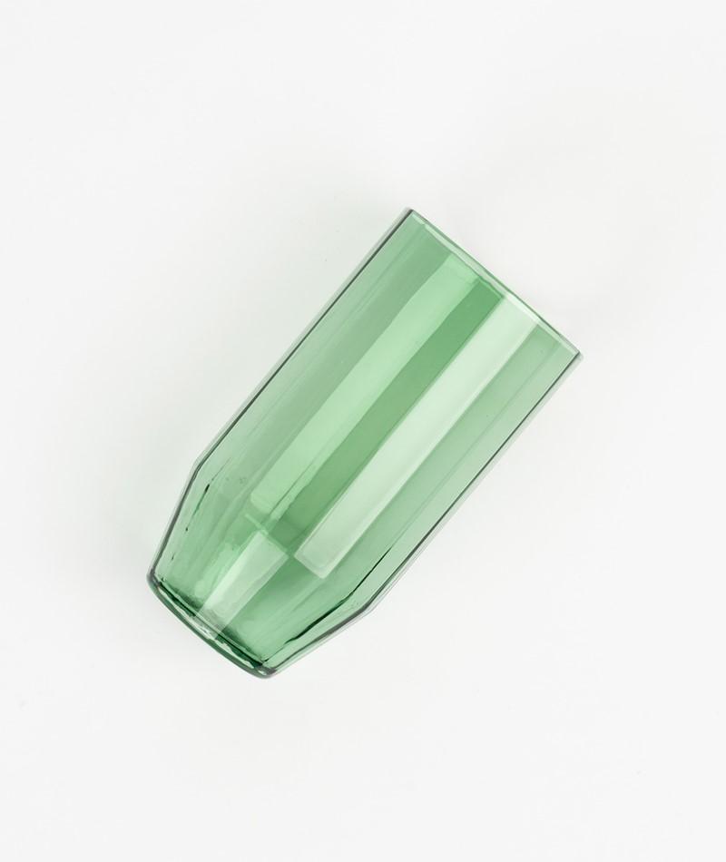 HÜBSCH Glas grün