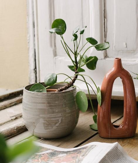 BLOOMINGVILLE Deco Vase braun