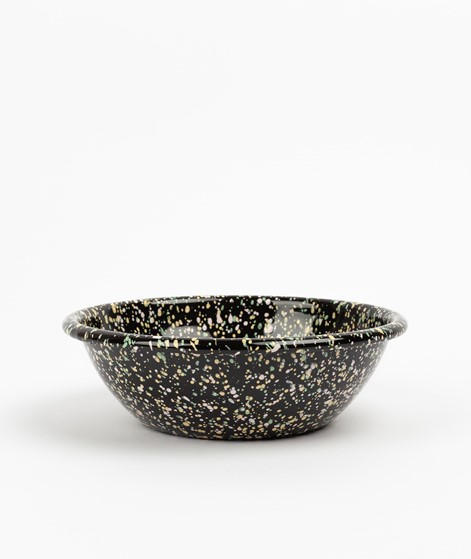 HAY Enamel Serving Bowl schwarz