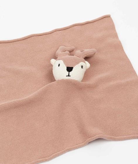 BLOOMINGVILLE Kinderhandtuch Hirsch rosa