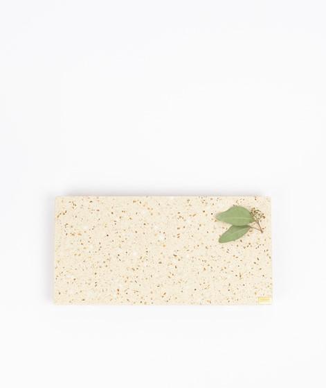 HÜBSCH Tablett Terrazzo beige