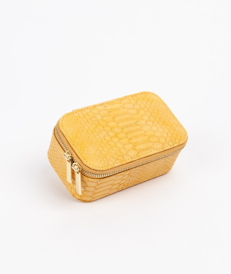 ESTELLA BARTLETT Mini Schmuck Box gelb