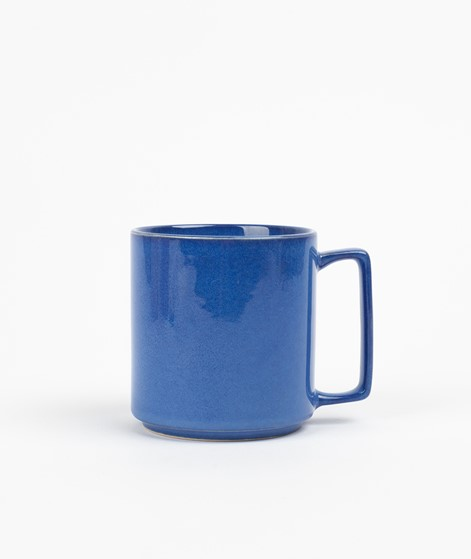 HÜBSCH Keramik Becher blau
