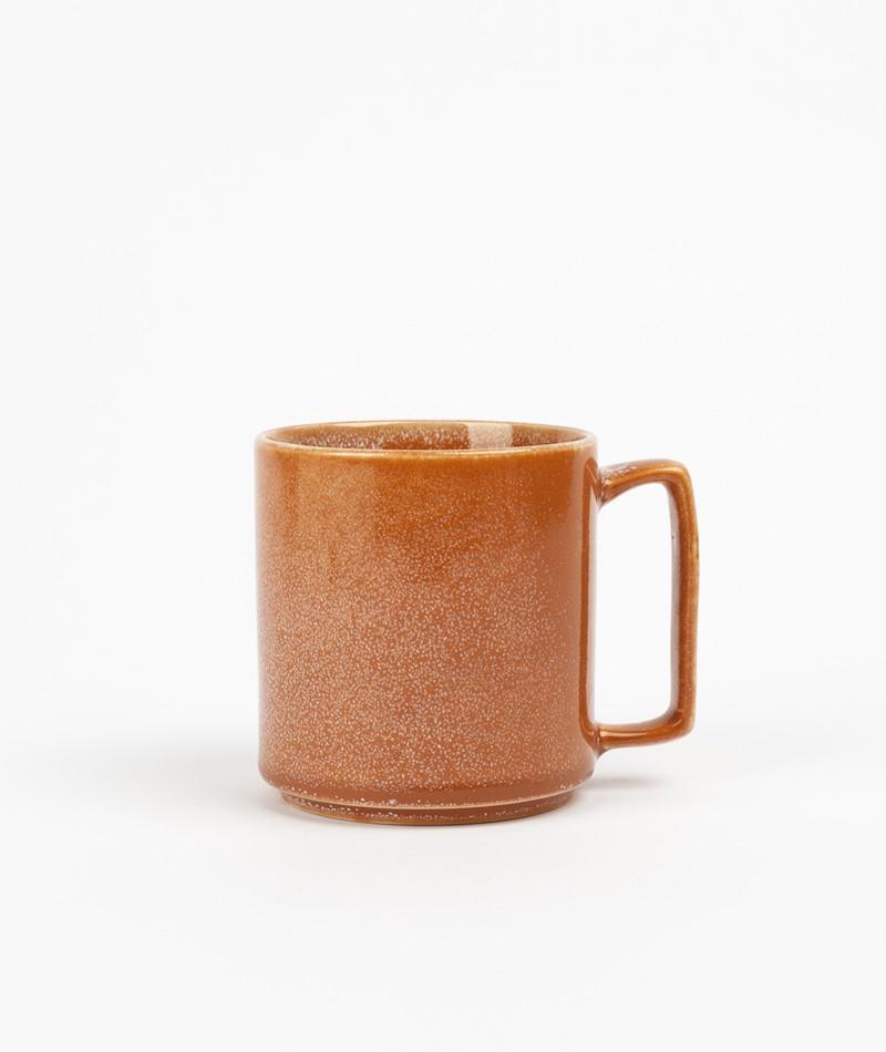 HÜBSCH Keramik Becher braun