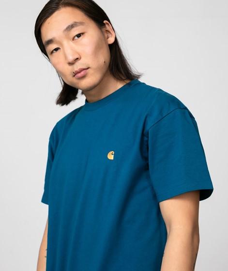 CARHARTT WIP Chase T-Shirt blau