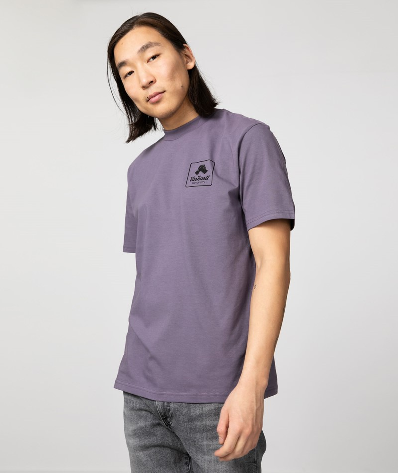 CARHARTT Peace State T-Shirt lila