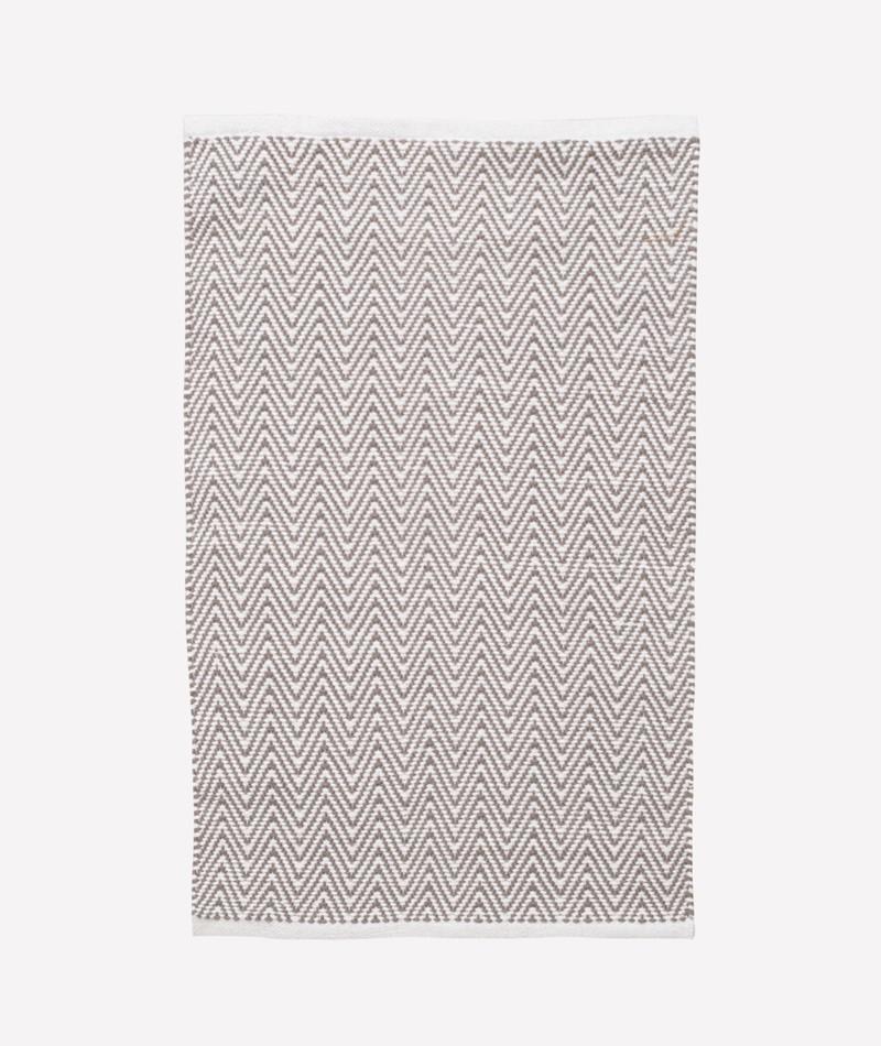 LIV Teppich zigzag grau