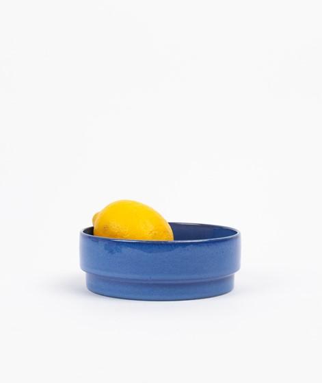 HÜBSCH Keramik Schale blau