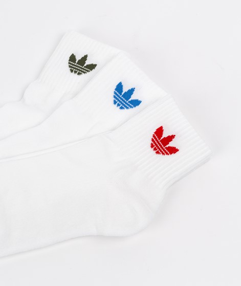 ADIDAS Mid Ankle Socken weiß