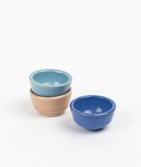 HÜBSCH Keramik Eierbecher dunkelblau