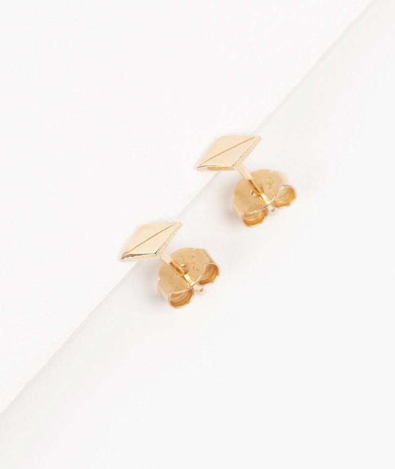 JUKSEREI Harlequin Ear Stud gold