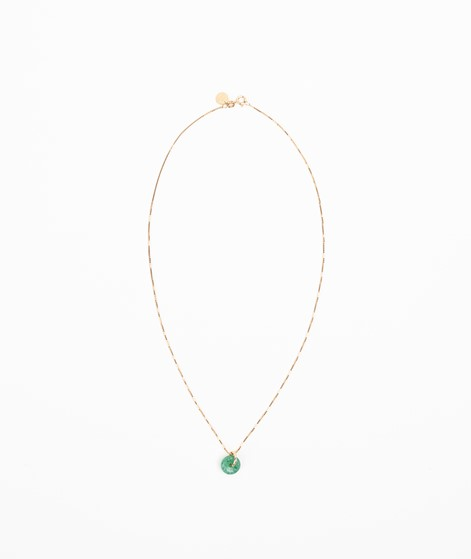 TOODREAMY Birthstone Kette August gold
