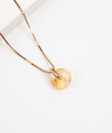 TOODREAMY Birthstone Kette November gold