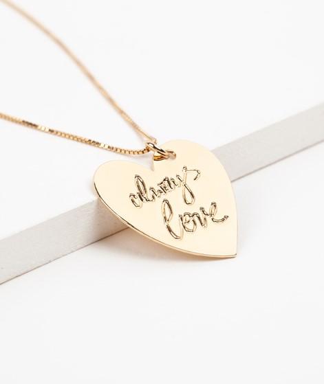 TOODREAMY #alwayslove Kette gold