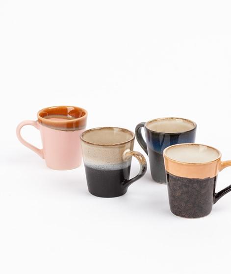 HKLIVING Ceramic Set 70`s Espresso Mugs