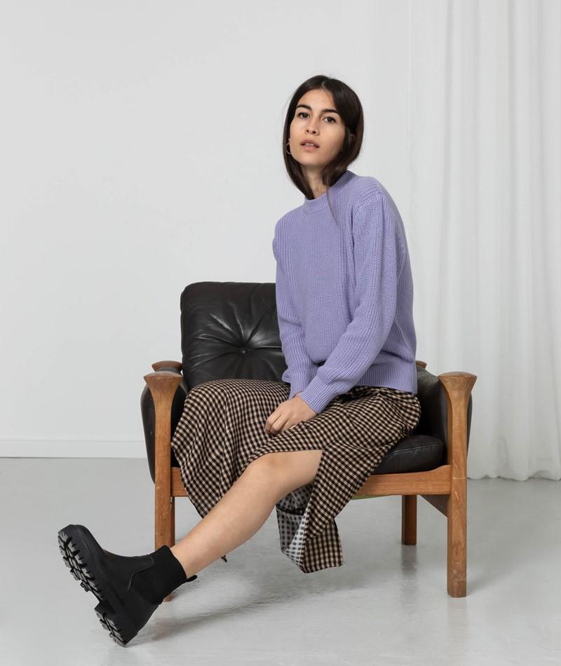KAUF DICH GLÜCKLICH Pullover lila
