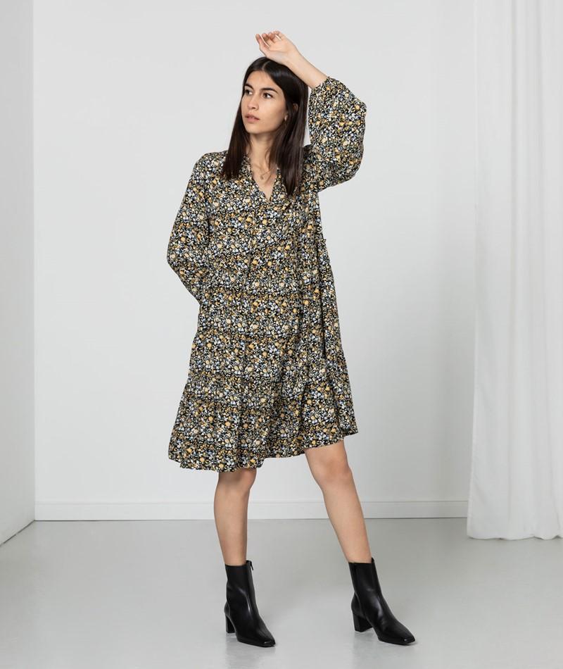 VILA VITendi Tullan Kleid gemustert