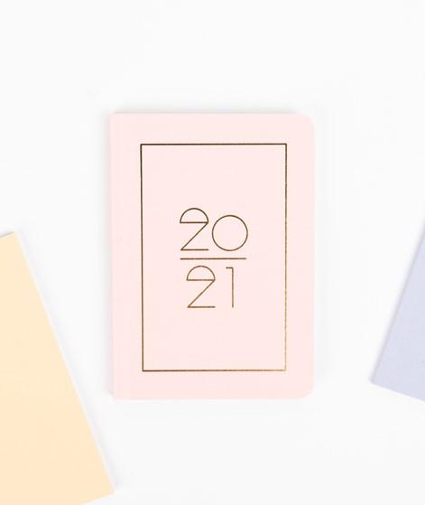 NAVUCKO Pocket Planner/ Diary 2021 pink