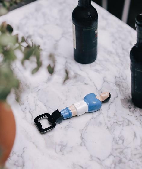 DOIY Foosball Flaschenöffner blau