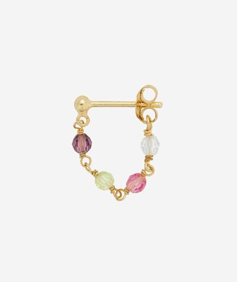 ANNA+NINA Single Confetti Chain Ohrring