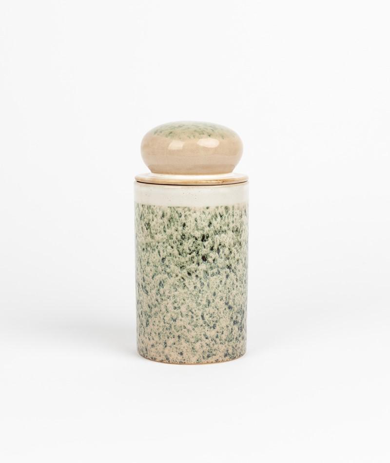 HKLIVING 70`s Storage Jar gemustert